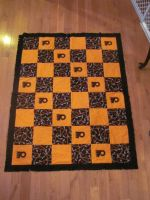 Flyers Fleece Throw by quiltoni