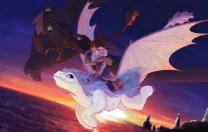 On top of the World (Hijack HTTYD AU) by KT-ExReplica