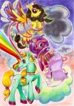 Jinx Spirit Storm and Arcus show dawn by Chibi-C