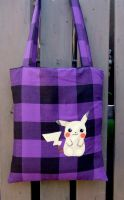 Pikachu tone bag by yael360