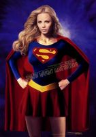 Supergirl Laura Vandervoort by artofsw