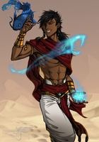 Sketch gift - Atum by AegeanBifrost