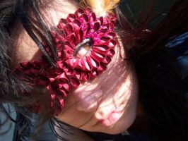 kanzashi red mask by ccaspia