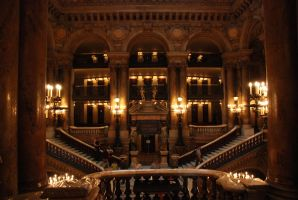 The Grand Staircase II by bayonets-and-quills