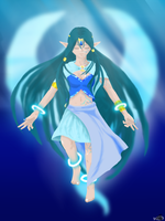 Goddess of Water by Koto-wari