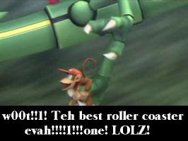 Teh roller coasterz lolz by ClassicKid