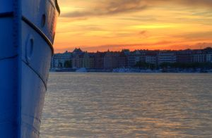 Kungsholmen at Sunset V by HenrikSundholm