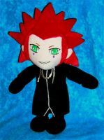 Axel plushie by WampusDragon
