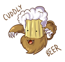 Cuddly Beer by AngieMyst