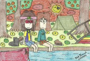 Jacob And Isabella's Down Time by gretzelboy89