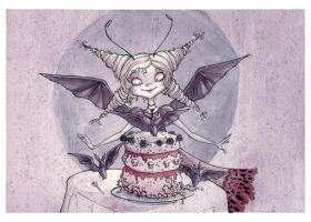'Surprise Batty' by maina