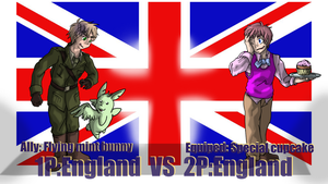 Hetalia Fights: 1P vs 2PEngland by Sagealina