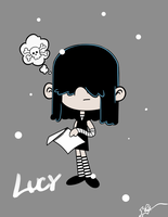 Day 9 Lucy Loud by OasisCommander51