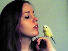 Me and my Budgie by nadda1984