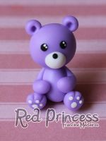 Urso roxo by theredprincess