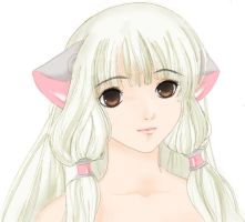 Chii from Chobits by mireikko