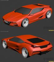 BMW M1 Hommage WIP2 by The-IC