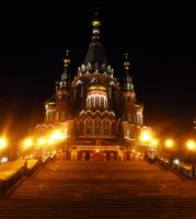 St. Michael's Cathedral - 3 by PoisonousCaramel