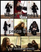 Black Sadness exclusive stock by Kechake-stock