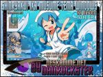 Ika Musume Windows 7 Theme by Danrockster
