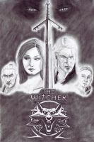 The Witcher-Poster Concept by Rainmere
