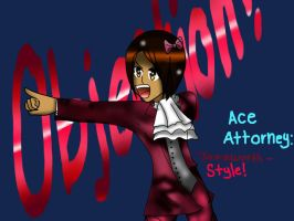 Ace Attorney:My style by KawaiiAngel23