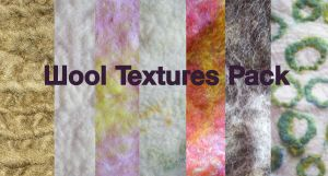 Wool Texture Pack by studiozoe