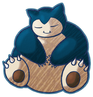 Snorlax by CatchShiro