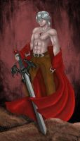 Dante Sparda color by Nifriel