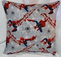 Spiderman Pillow by quiltoni