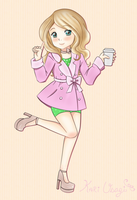 Point Adoptable: Coffee Girl [OPEN] by KUWorld