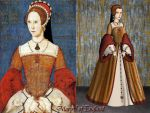 Mary Tudor, Queen of England by Nurycat