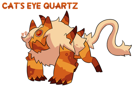 [C] - Corrupted Cat's Eye Quartz by FloofHips