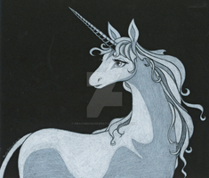 The Last Unicorn by DraconicNosferatu