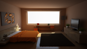 Orange Bedroom(READ DESCRIPTION) by MasonButts