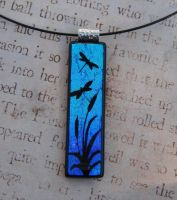 Ponds Edge Fused Glass by FusedElegance