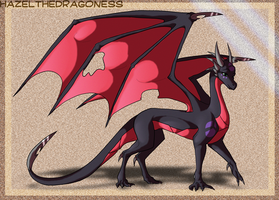 TLoH Cynder design by Hazelthedragoness