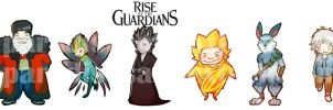 Rise of the Guardians by KIPPE