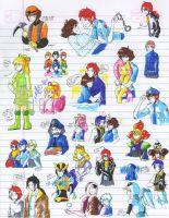 Felt pen doodles 2 by General-RADIX