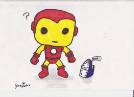 Oh the Irony! -Iron Man by firenight617