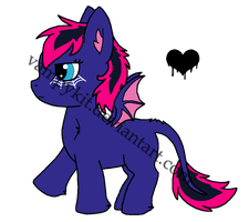 Foal for cupcakedog by VampyKit