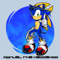 ::Manuel the Hedgehog:: by Chibi-Nuffie
