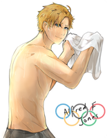 APH: Olympic!Alfred by Chuuco