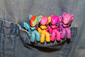 Ponies in my Pocket by Nookslider