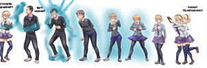 Magic spell tg sequence by Rezuban