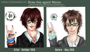 Draw this again Meme - Pine Humptons by Medusa-chii