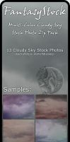 Colored Storm Clouds Zip Pack by FantasyStock
