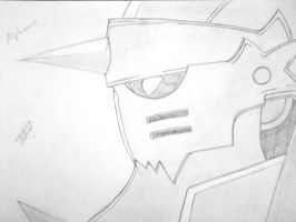 Alphonse Elric by Pap3r-Moon
