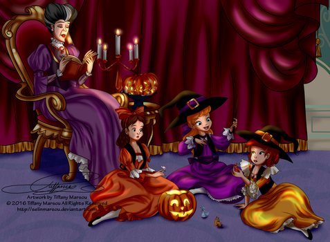 Halloween Story by selinmarsou