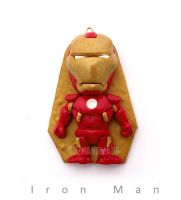 AVENGERS - Iron Man - CLAY SCULPTURES by buzhandmade